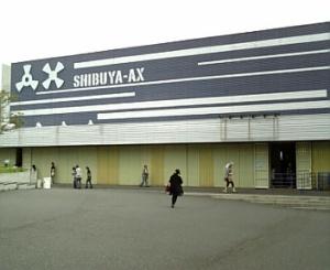 SHIBUYA-AX(開演前)